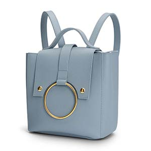 mini mochila de cuero viki
