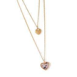 Collar pink heart