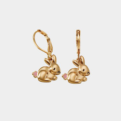 Pendientes Gold Bunny