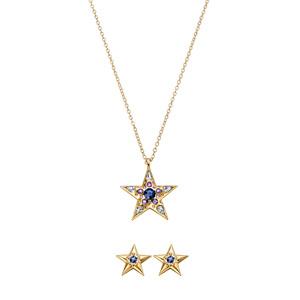 Estuche Collar + Aretes Star Sea