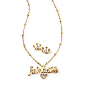 Estuche Collar + Aretes Magic Princess