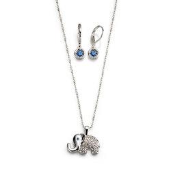 Collar + Aretes Elephantic