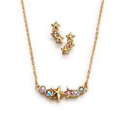 Collar + Aretes Frozen Star