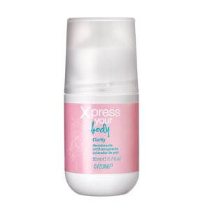 desodorante mujer xpress your body roll-on clarity antitranspirante